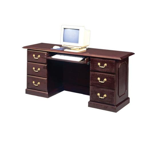 Dmi Office Furniture Flexsteel Contract Governor's Computer Desk