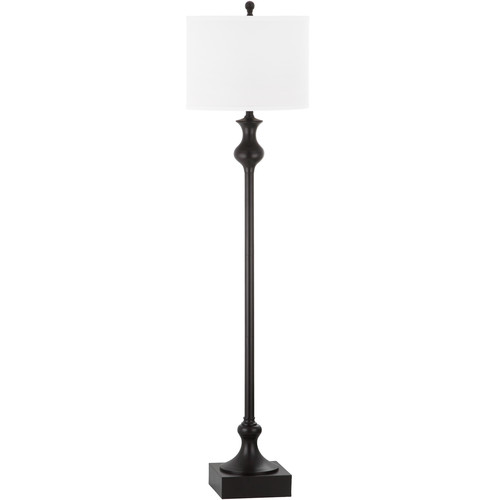 Safavieh Brewster Floor Lamp With Cfl Bulb Oil Rubbed