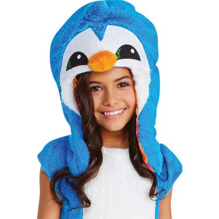 Child Animal Jam Dancing Clever Penguin Hoodie, One Size - Clever Halloween Hashtags