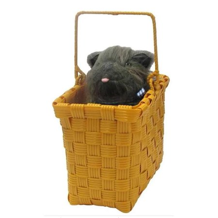 The Wizard Of Oz Toto In The Basket Costume Accessory One Size (Toto From Wizard Of Oz)