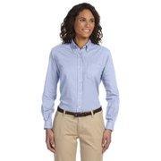 Van Heusen Ladies' Classic Long-Sleeve Oxford - LIGHT BLUE - XL 59800