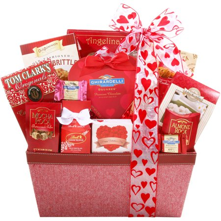 Alder Creek Ultimate Love Valentine Gift Basket, 12 pc