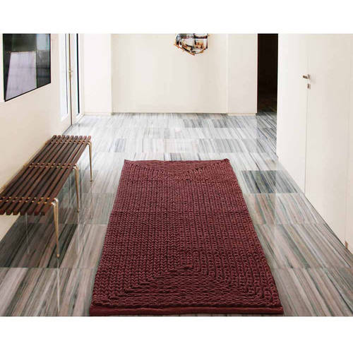 VCNY Home Barron Cotton Chenille Bath Rug Runner, 2' x 5'