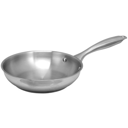 Oster Cuisine Saunders 8 inch Stainless Steel Frying Pan