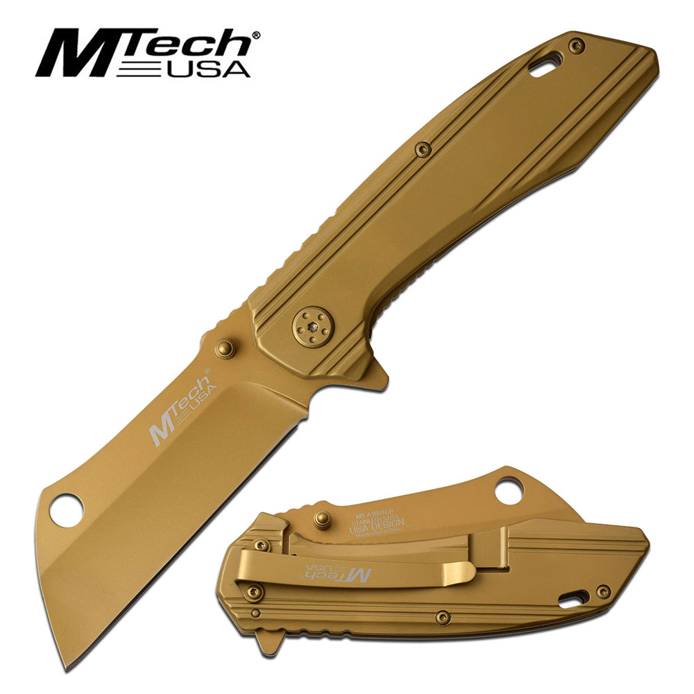 MTech USA Assisted Folding Cleaver