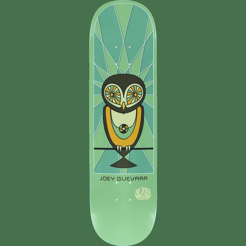 Alien Workshop Guevara Owl Skateboard Deck -8.25 DECK ONLY