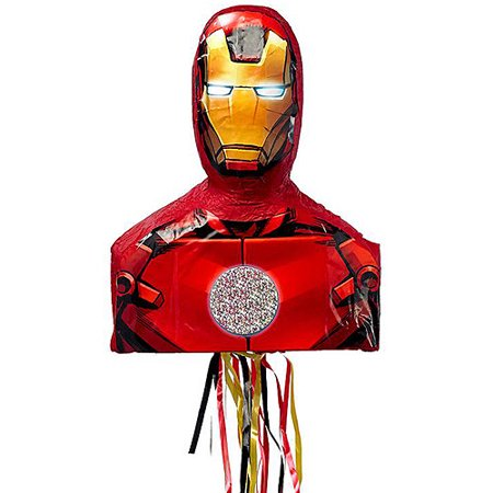 Iron Man 3D Premium Pull String Pinata - Avengers Pinata