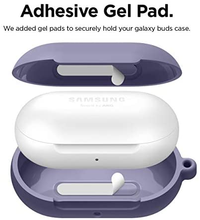 // Galaxy Buds Case Black 2020 - elago Silicone Case Designed for Samsung Galaxy Buds Plus Case 2019