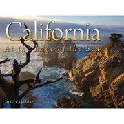 California At the Edge of the Sea Wall Calendar