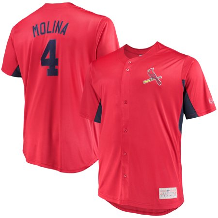 pretty nice e6d1f 1e406 Men's Majestic Yadier Molina Red St. Louis Cardinals MLB Jersey