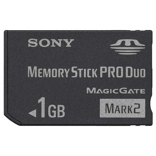 Sony Memory Stick Pro Duo 1 GB