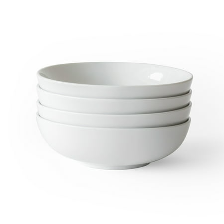 - Better Homes & Gardens Porcelain Round Pasta Bowls, Set of 4