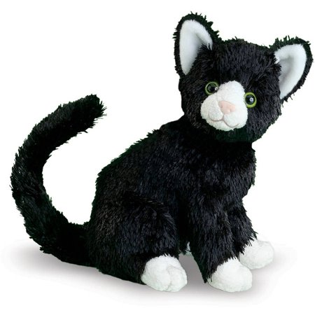 Melissa   Doug Midnight Cat Stuffed Animal