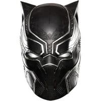 Marvel's Captain America: Civil War Adult Black Panther Full Vinyl Mask, Halloween Accessory