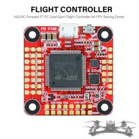 HGLRC Forward F7 FC Dual Gyro Flight Controller 3- 6S with Connector on Board OSD for FPV Racing Drone RC Quadcopters
