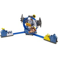 Hot Wheels DC Comics Batman Batcave Track Playset