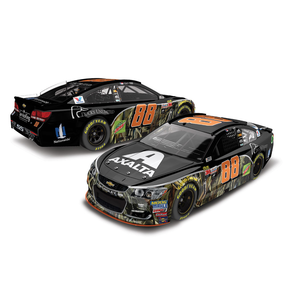 Dale Earnhardt Jr. Action Racing 2017 #88 Axalta Ducks Unlimited 1:24 Monster Energy... by Lionel LLC