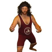 A.C. Slater Bayside Wrestling Singlet Costume Saved By The Bell Wrestler Tigers