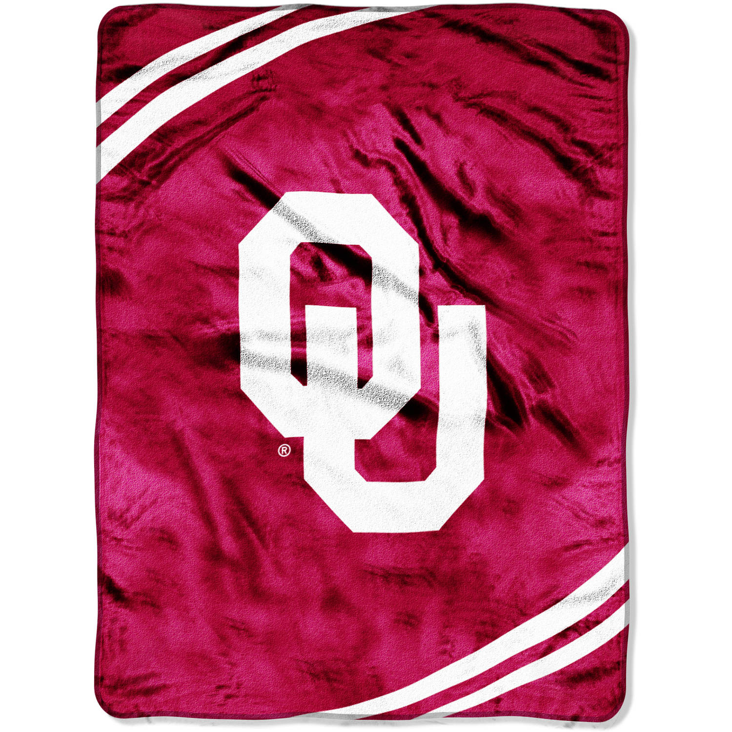 "Oklahoma State Cowboys 60""x80"" Royal Plush Raschel Throw Bla"