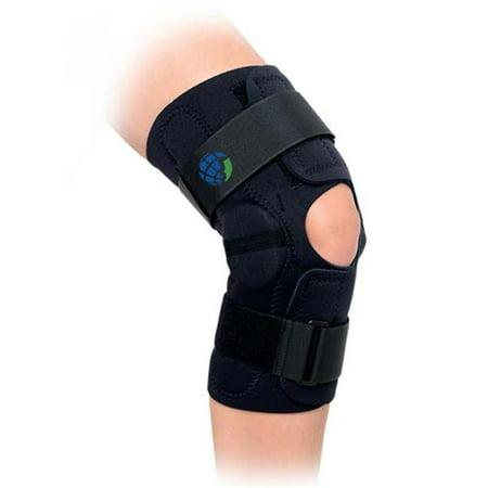 Advanced Orthopaedics 628 Min Knee Hinged Wrap Knee Brace - Extra Large - image 1 de 1