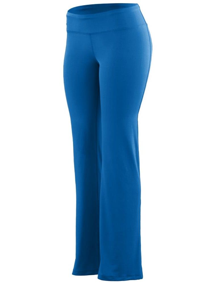 Augusta Sportswear Girls' Wide Waist Poly/Spandex Pant 2401