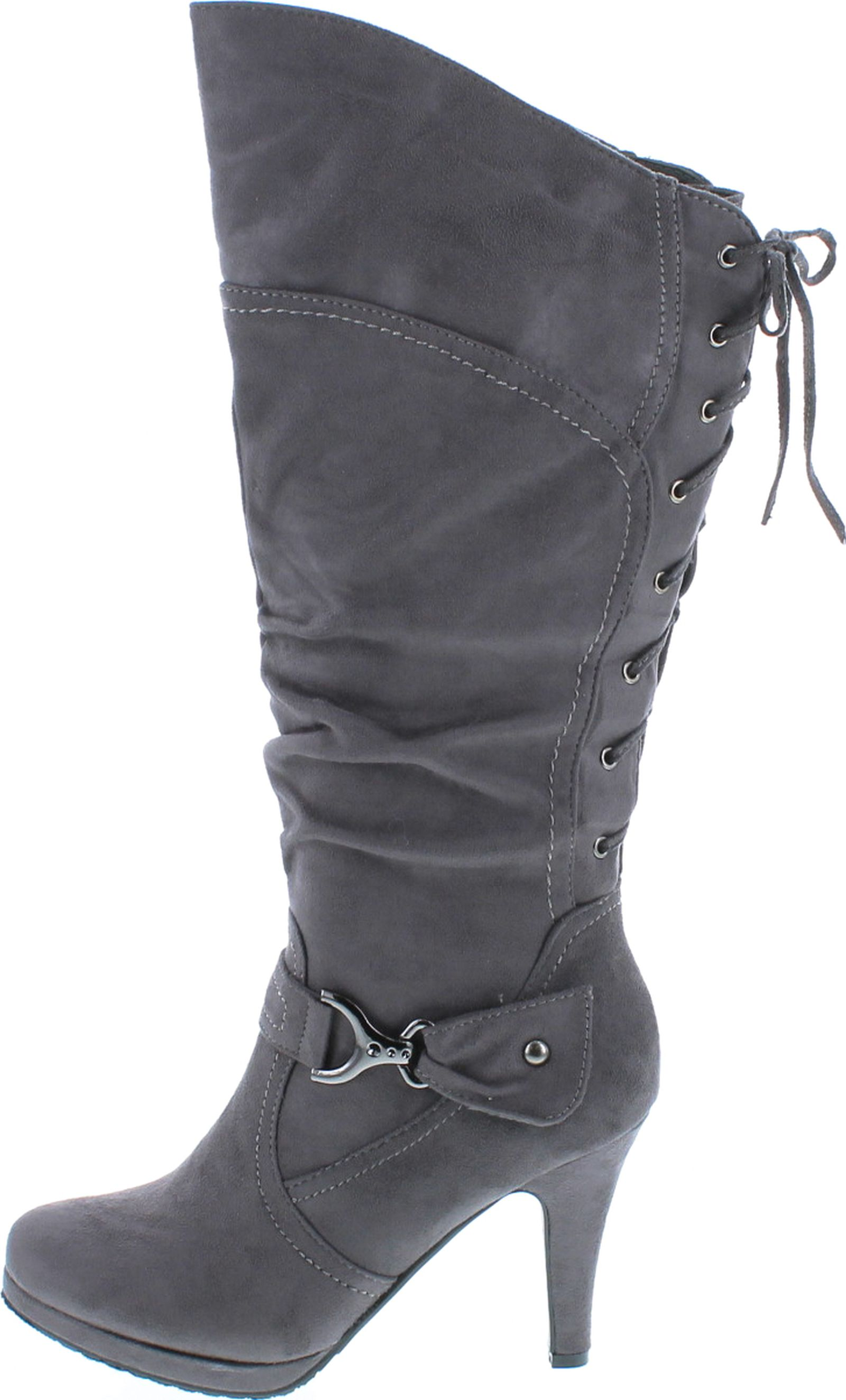 TOP Moda Womens Page-65 High-Top Boot