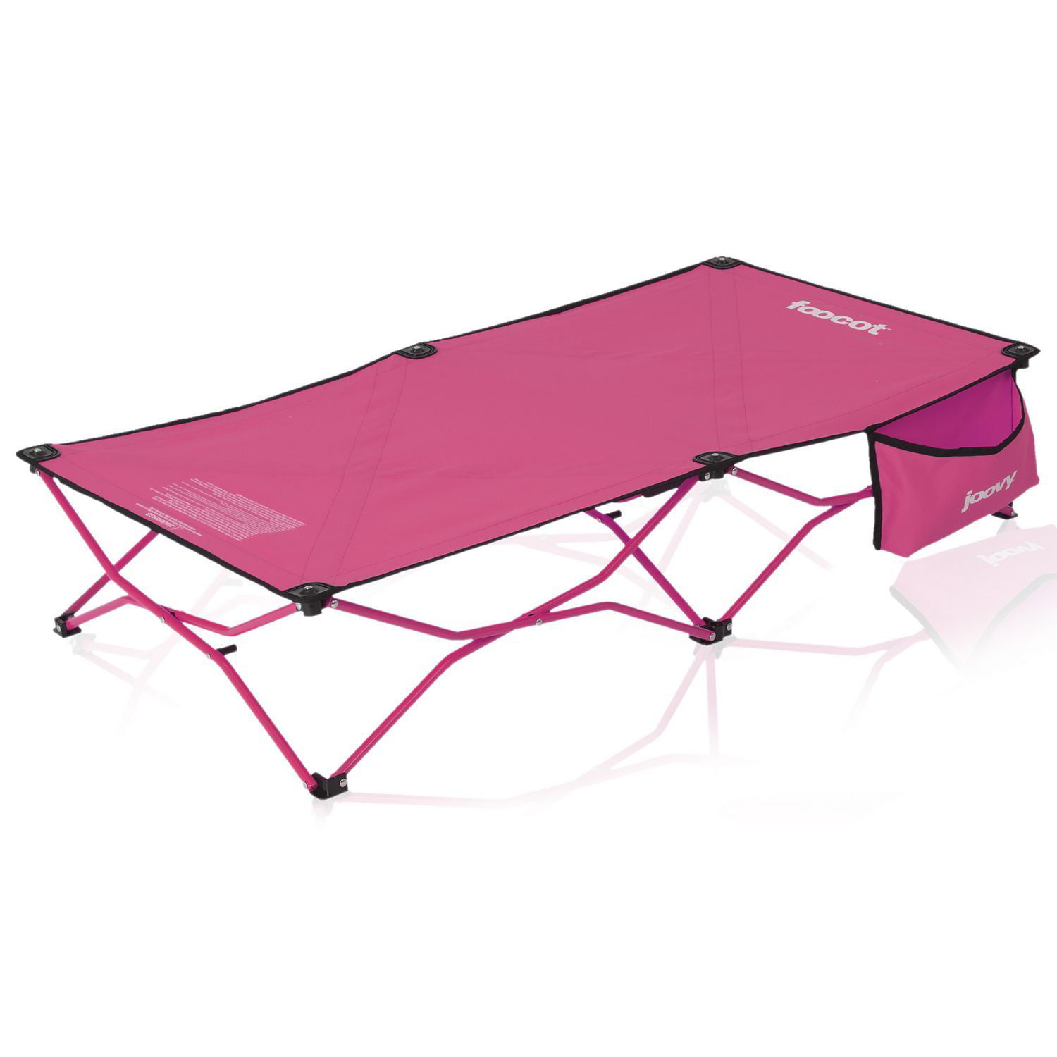 Joovy Foocot Travel Child and Toddler Cot, Pink by Joovy