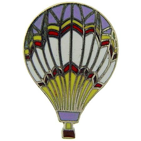 Hot Air Balloon Pin Purple 1