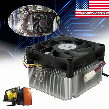 NEW CPU Cooler Cooling Fan & Heatsink For AMD Socket AM2 AM3 1A02C3W00 up to