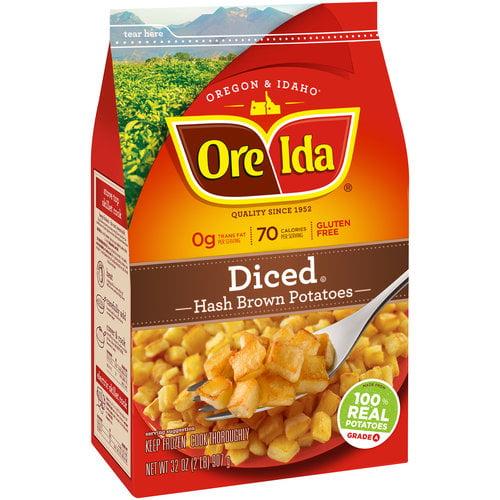 Ore-Ida Diced Hash Brown Potatoes, 32 oz