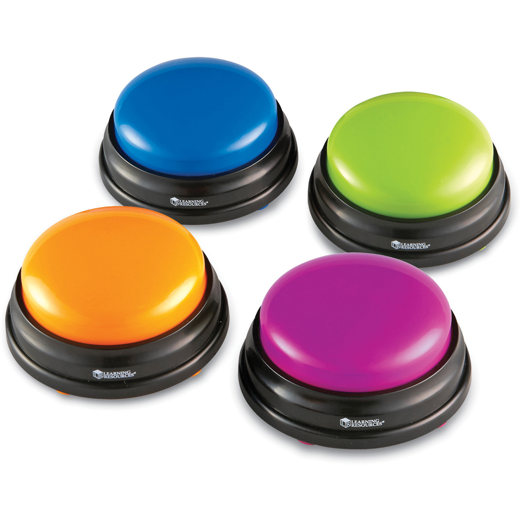 Learning Resources Lrnler3774 Answer Buzzers Set 4 Pack Multi Game Show Quiz Buzzer Circuit Kit