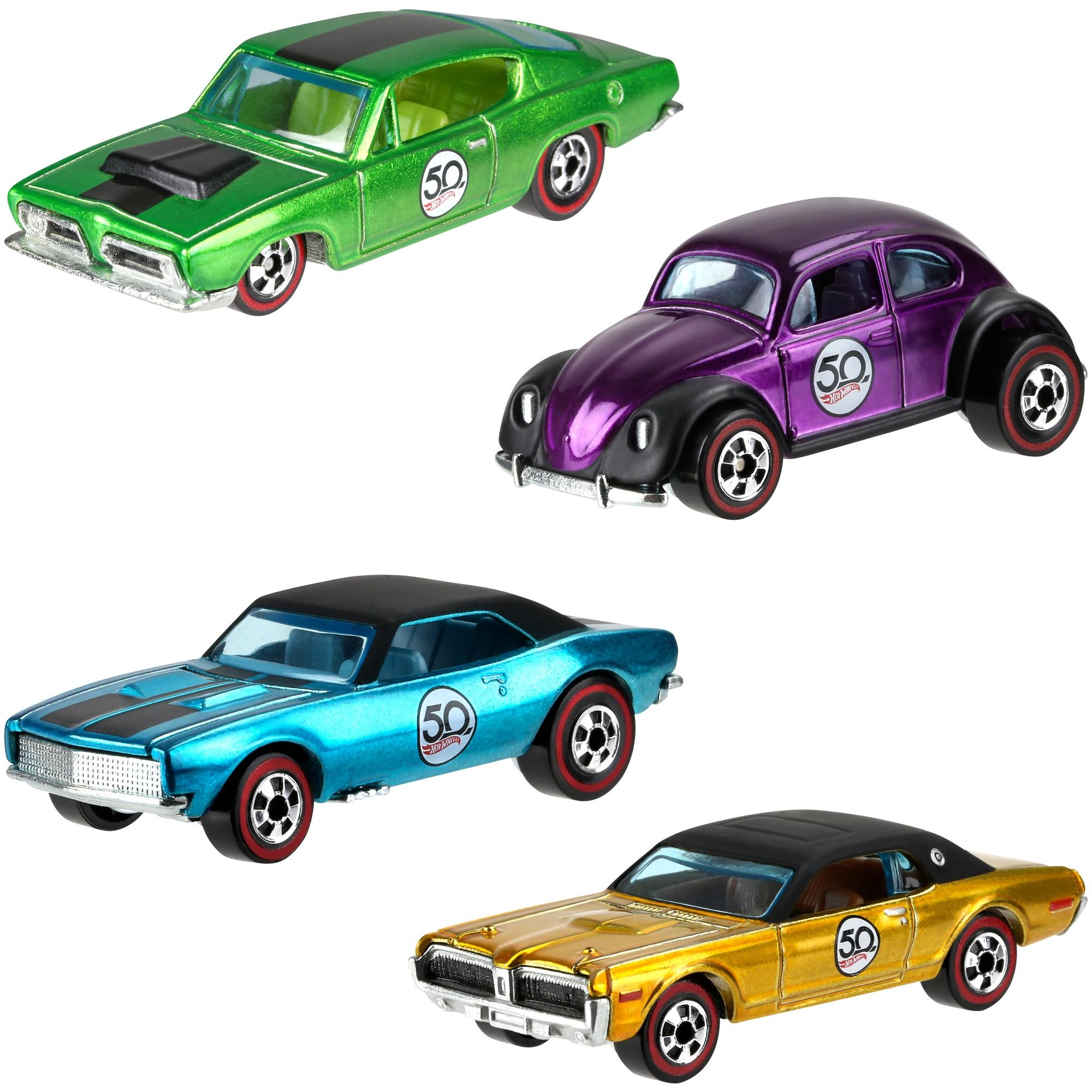 Hot Wheels 50th Anniversary Die-Cast Vehicle (Styles May Vary)