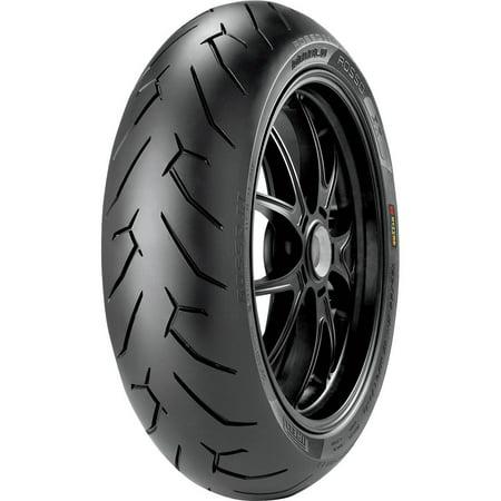 Pirelli 2072400 Diablo Rosso II Rear Tire - (Pirelli Diablo Rosso 2 190 50 Zr17)