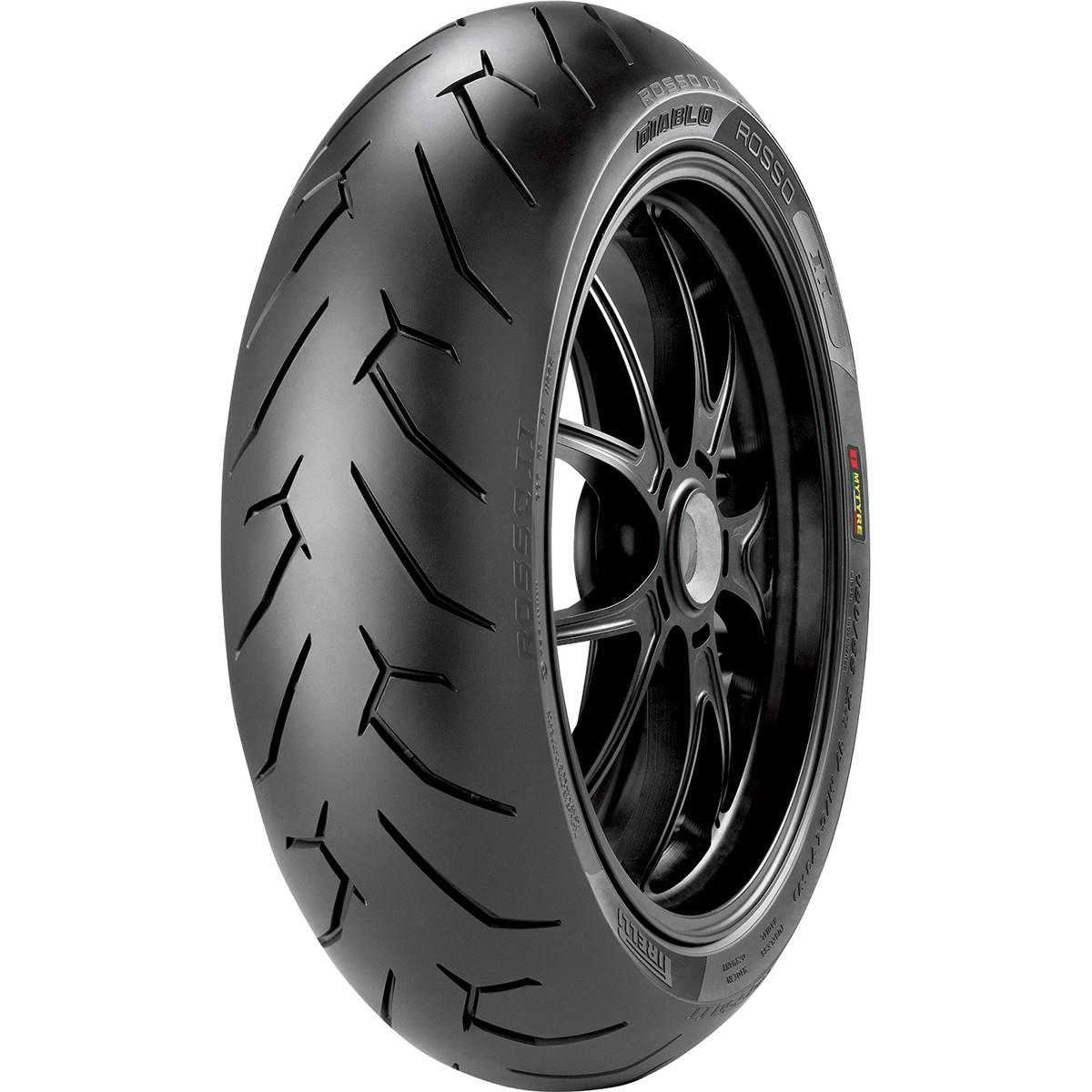 140//70R17 Diablo Rosso 2 Rear Motorcycle Tire Pirelli 2055400