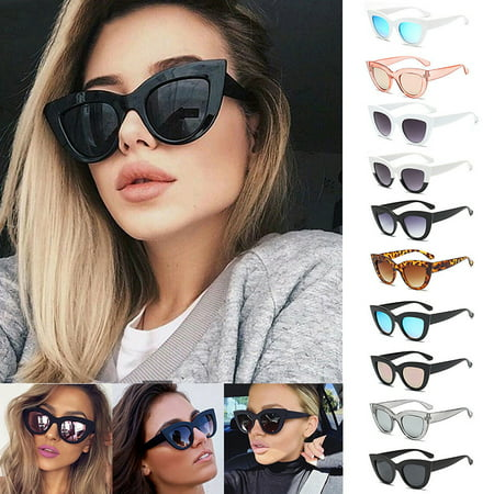Women UV400 Luxury Oversized Cat Eye Sunglasses Fashion Vintage Style (Vintage Cat Eye Glasses For Sale)