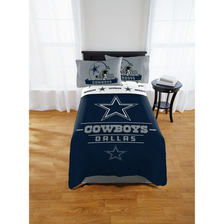 NFL Dallas Cowboys Monument Twin & Full Comforter Set, 1 Each (Dallas Cowboys Stadium)