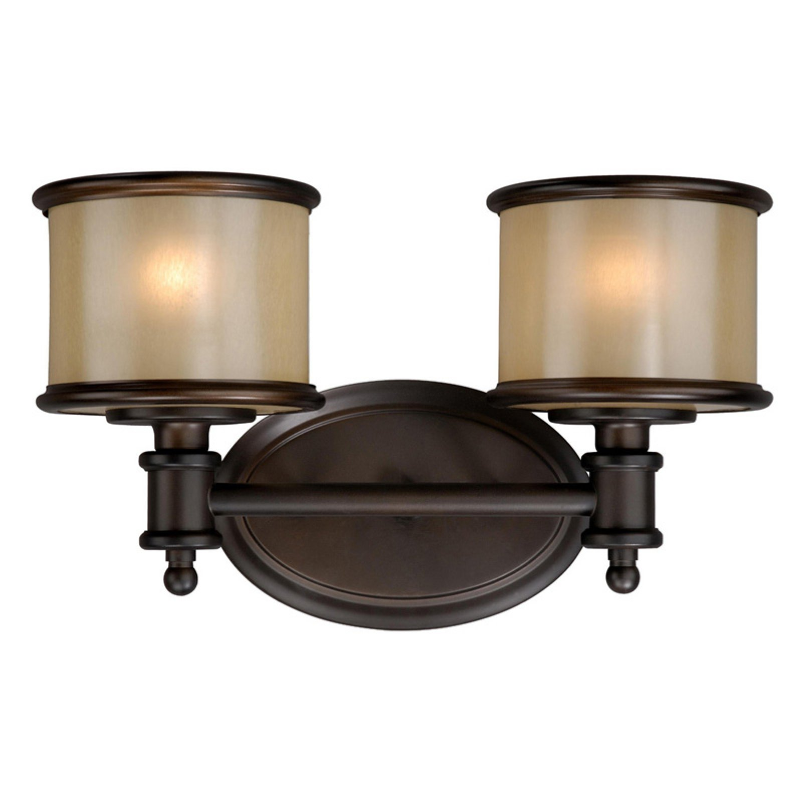 Vaxcel Carlisle CR-VLU002 2 Light Bathroom Vanity Light