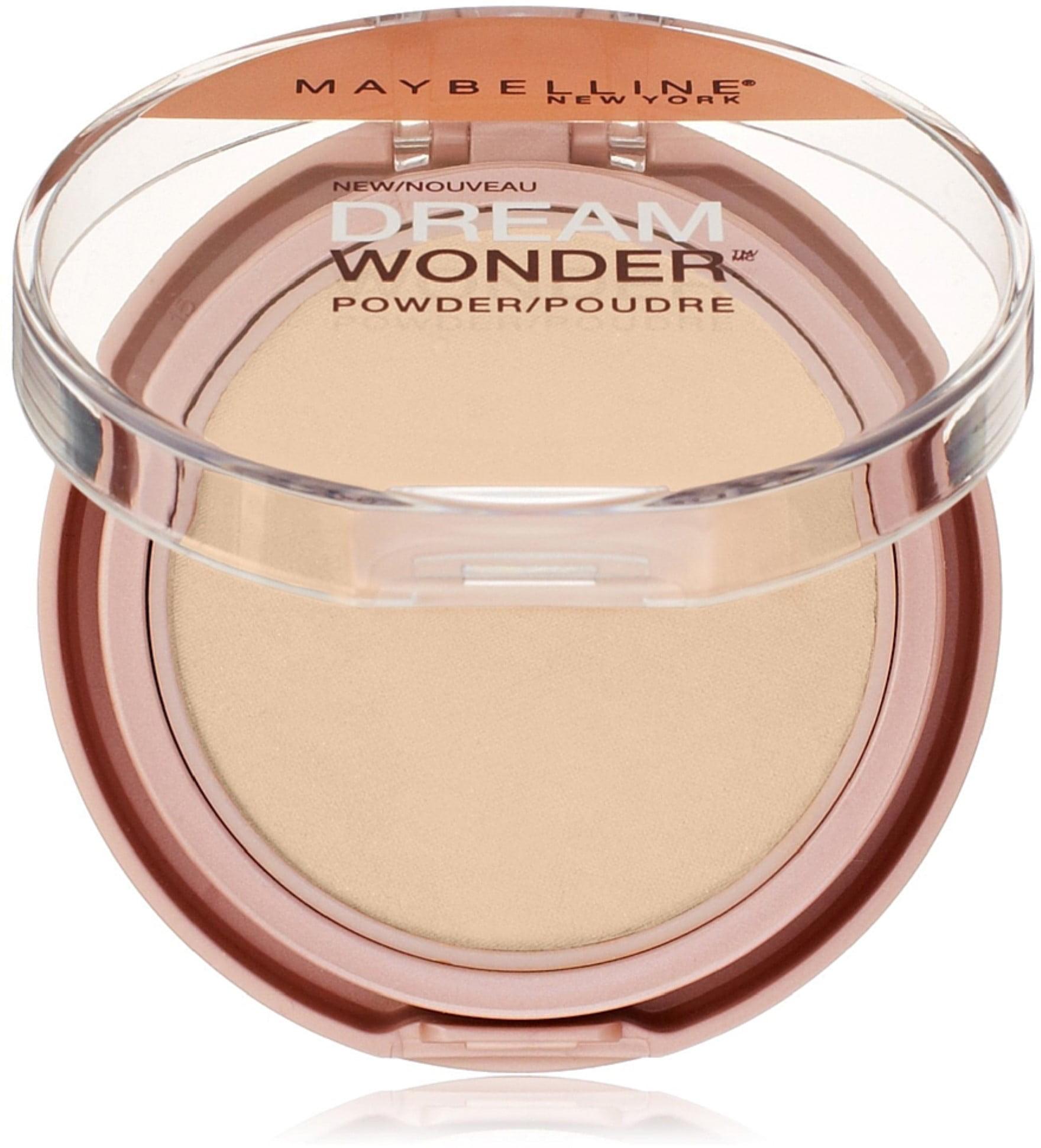 Maybelline New York Dream Wonder Powder, Sandy Beige [60] 0.19 oz (Pack of 3)