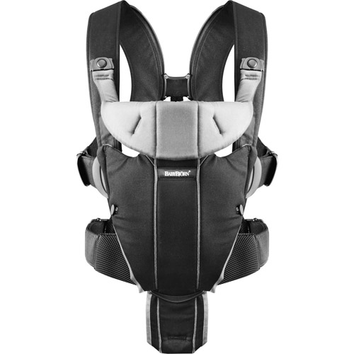 BabyBjorn Baby Carrier Miracle - Black / Mesh