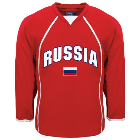 7a3275454 Russia MyCountry Fan Hockey Jersey - IceJerseys - image 1 of 1 ...