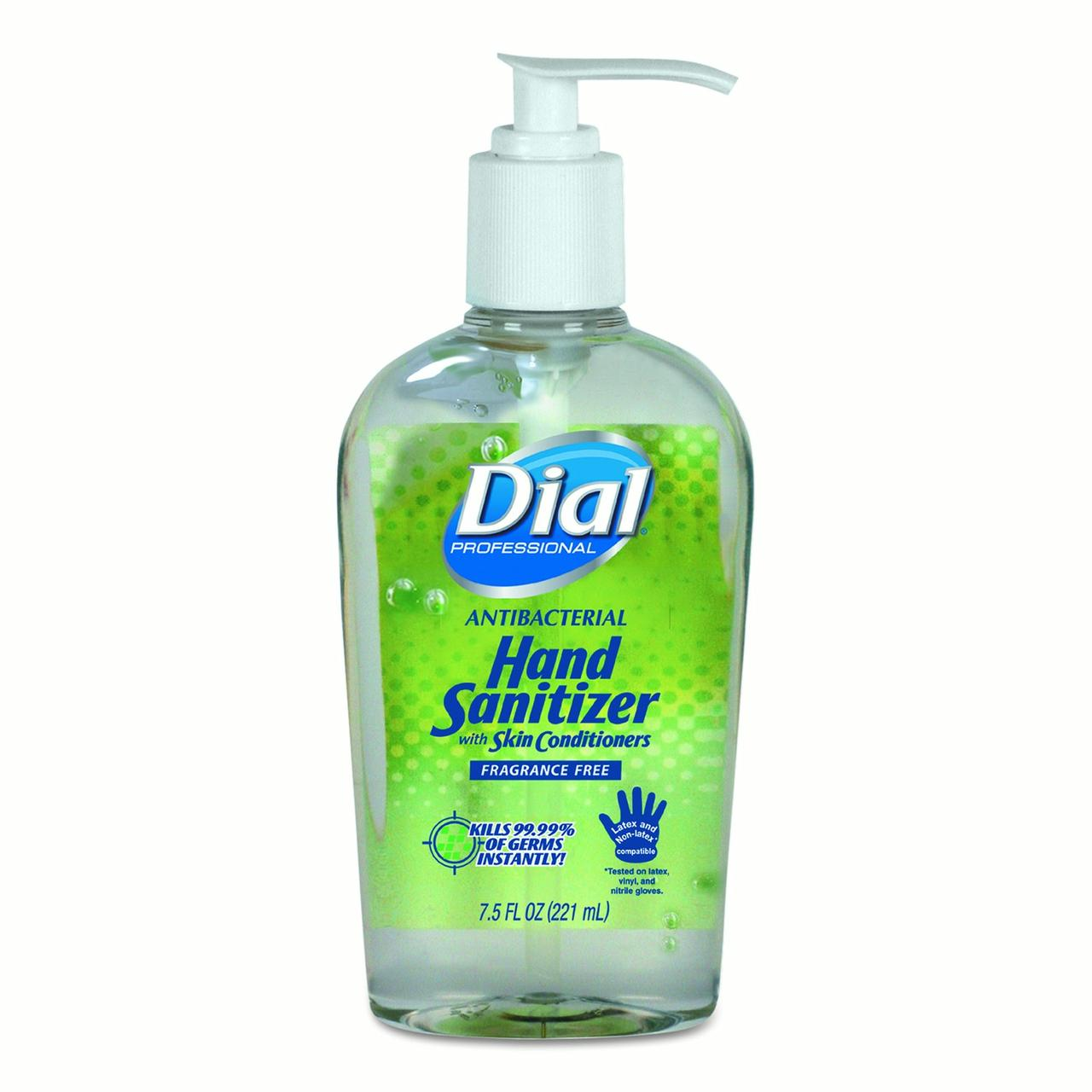 Dial Professional Antibacterial Gel Hand Sanitizer with Moisturizers, 7.5oz Pump Bottle,... by Henkel AG & Co