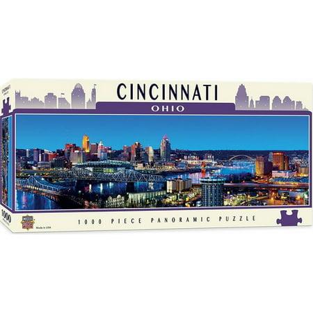 MasterPieces Cityscape - Cincinnati 1000pc Panoramic Puzzle