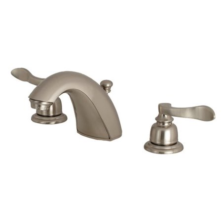 Kingston Brass NuWave French Mini-Widespread Bathroom Faucet with Drain