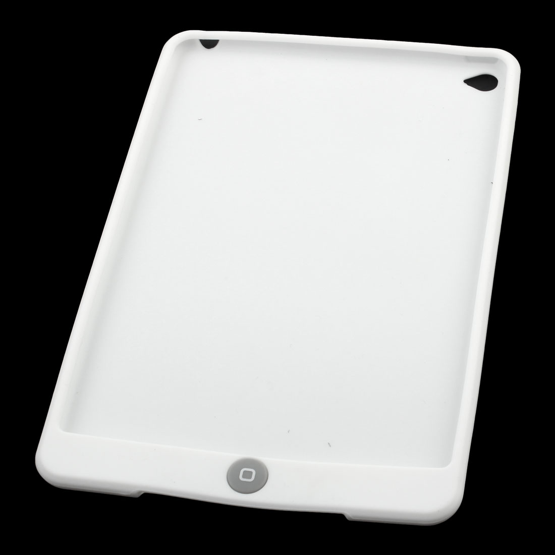 Unique BargainsRubber Protective Skin Back Cover Case White for iPad Mini 4 - image 4 of 7