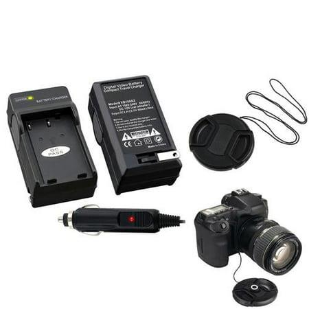 Nikon D40 Body - Insten battery Charger For nikon D3X D40 D40X D5000+Cap+Keeper
