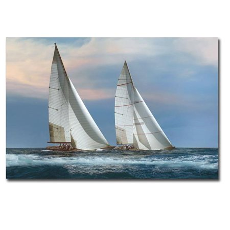 The Chase by Xavier Ortega Premium Gallery-Wrapped Canvas Giclee Art - Ready to Hang, 24 x 36 x 1.5 in. - image 1 of 1