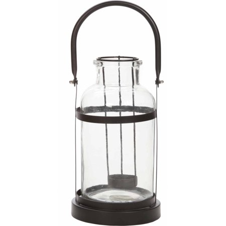 Mainstays Glass Jar Tealight Lantern, - Glass Jar Halloween Lanterns