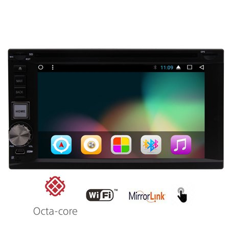Android 7 1 Nougat Upgrade Version Car Dvd Player 2Gb Ram Octa Core 32Gb Rom With Wifi For Music Video App Download In Dassh Gps Navigation Free Map Mirror Link  Airplay