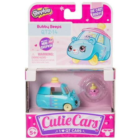 Cutie Car Shopkins Season 2, Single Pack Bubby Beeps 2nd Season Cap