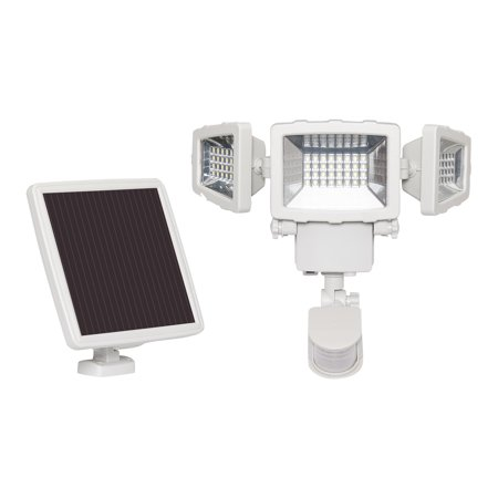 Westinghouse 1500 Lumen Triple Head Solar Security Light - Motion Activated